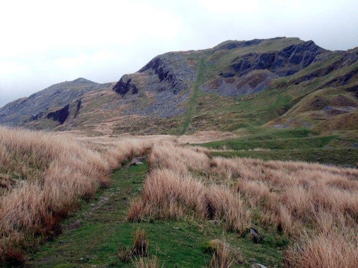 Cribarth, a small hill on the southern fringes of the Mynydd Du