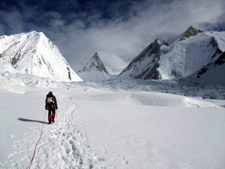 I first heard about ExplorersWeb during my expedition to Gasherbrum in 2009