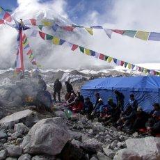 Base Camp Puja