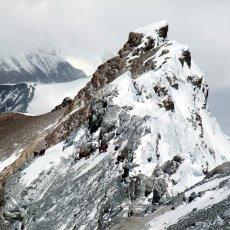 The world's most terrifying ridge walk
