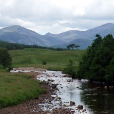 Backpacking in the Black Mount: a high level route for midges