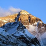 Everest from Tibet, steep but not that steep