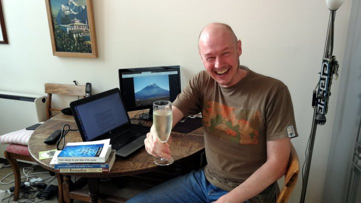 Cheers! A toast to writing one blog post a week, every week, for ten years!