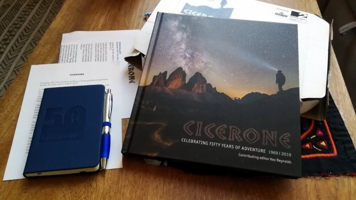 Fifty Years of Adventure (and sundry other items): a Cicerone gift pack newly arrived