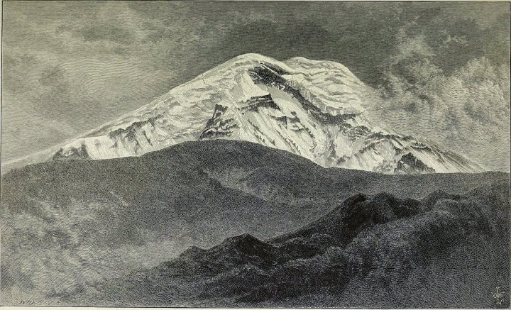 Edward Whymper's engraving of the west side of Chimborazo. Whymper was baffled by Humboldt's and Boussingault's descriptions of their climbs. (Picture: Wikimedia Commons)