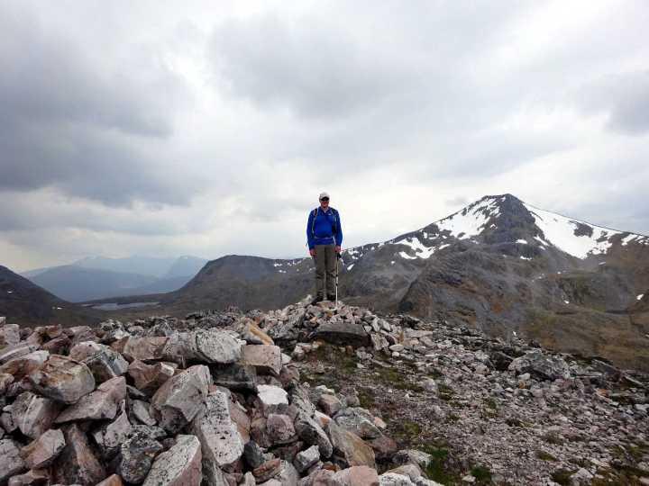 Binnein Beag summit ticked