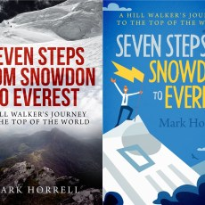 Seven Steps from Snowdon to Everest: please give your feedback on my book cover