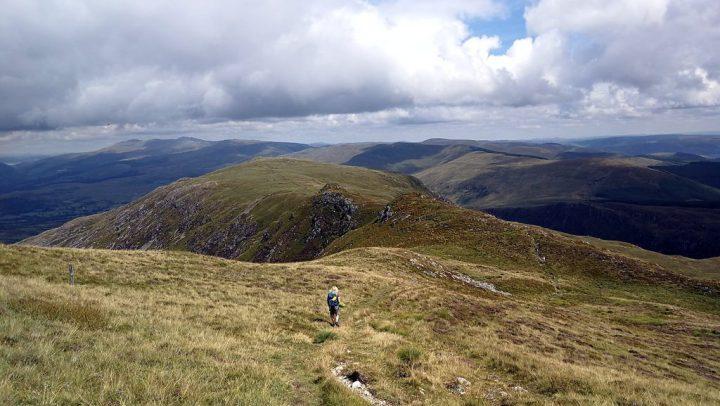 The ridge to Gau Craig