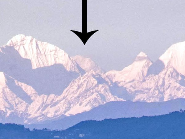 A closer view of the mountain (Photo: Abhushan Gautam)