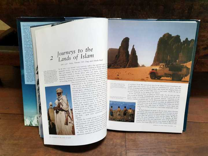 A glossy chapter on the Tibesti Mountains from Doug Scott's coffee table book Himalayan Climber