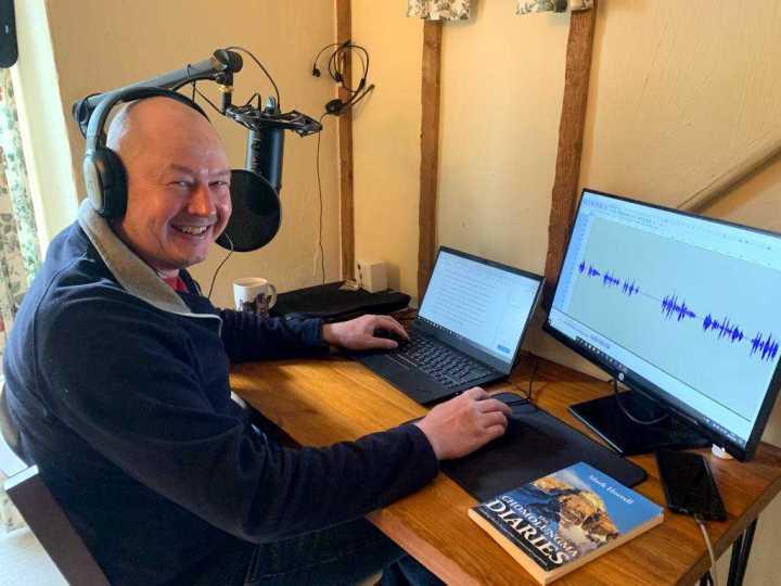 Mark Horrell: podcaster, DJ or audiobook narrator?