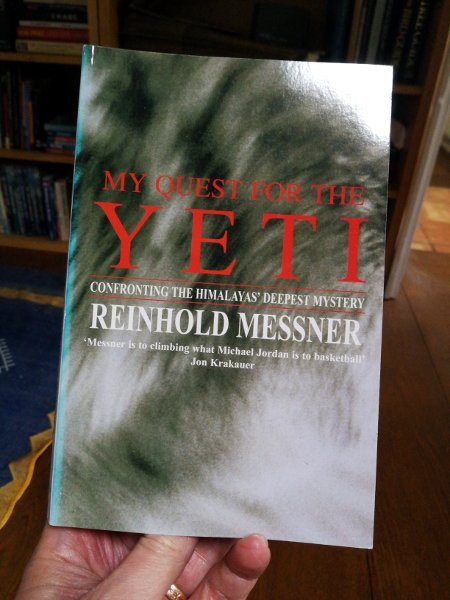 Reinhold Messner's classic book, My Quest for the Yeti