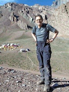 The esteemed travel writer Simon Calder has just climbed Aconcagua and written about it for the Independent (Photo: Gina Waggott)