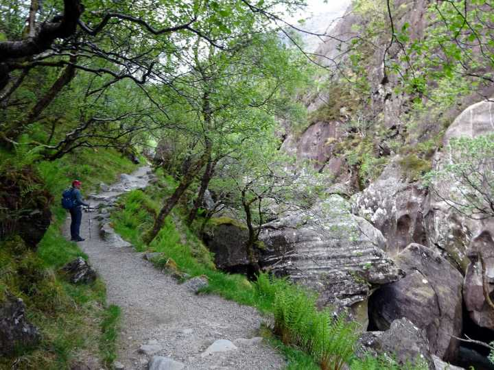 In the Tolkienesque setting of the Steall Gorge