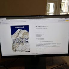 Revised edition of The Baruntse Adventure available from all good e-bookstores