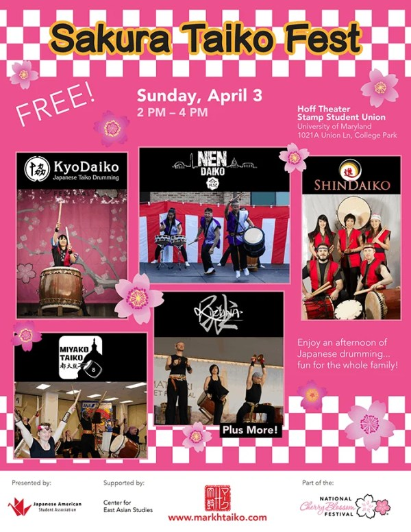 2016 Sakura Taiko Fest