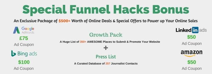 Funnel Hacks Bonus