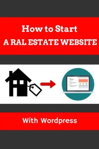 How to start a real estate website