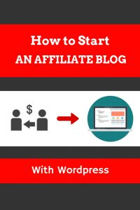 How to start an affiliate blog