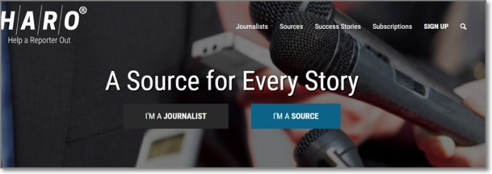 HARO is an online service set up for journalists to quickly gather feedback from the public. It is designed to enable journalists to connect with people who have expertise or experience in particular issues, so that journalists can obtain valuable advice and quotes for stories they are covering.