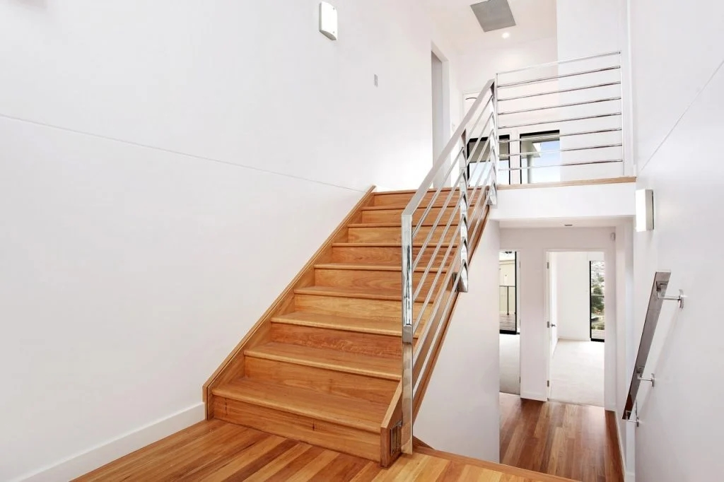 Stairs In Your Architecture Plan Newcastle Mark Lawler Architects   Two Story House Stair Design   Upstairs   Mansion   Small Space   Front Entrance   Double Door Main Hall Door