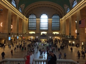 Quick trip to Grand Central next door.