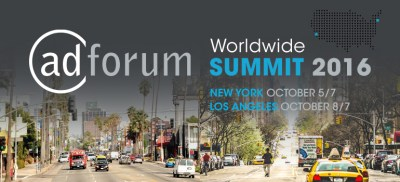 AdForum Summit New York/Los Angeles 2016
