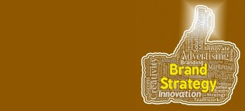 Brand strategy thumb shows company identity and agreement by Stuart Miles courtesy of FreeDigitalPhotos