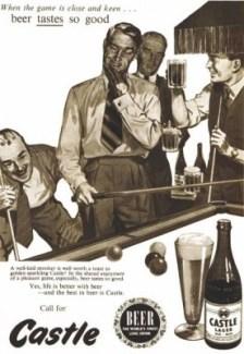 Castle Lager Vintage Ad