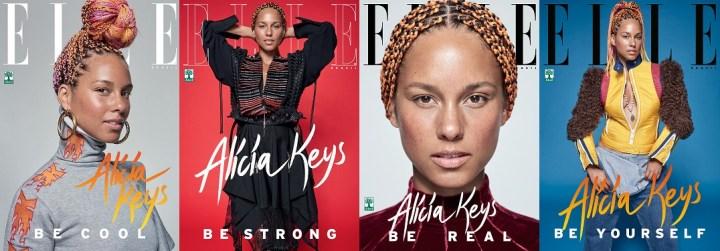 ELLE Brasil, September 2017 - Alicia Keys 1-4