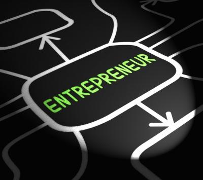 Entrepreneur Arrows Means Starting Business Or Venture by Stuart Miles courtesy of FreeDigitalPhotos.net