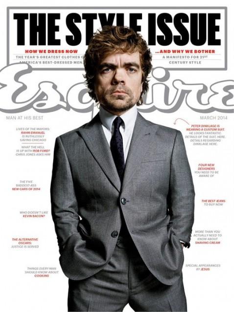 Esquire, March 2014