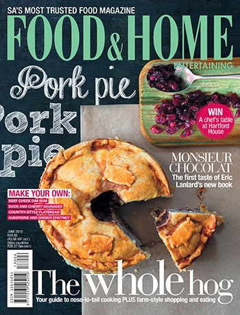 Food & Home, 6 June 2013