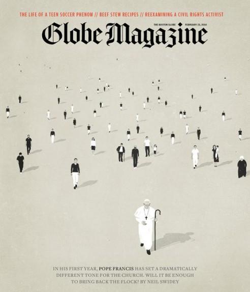 Globe Magazine, 21 February 2014