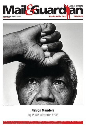 Mail & Guardian special tribute front page 6 December 2013 — Madiba
