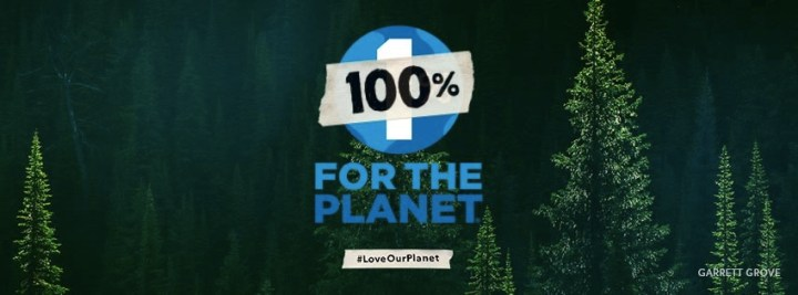 Patagonia 100% for the planet
