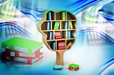 Tree Of Knowledge. Bookshelf by renjith krishnan courtesy of FreeDigitalPhotos.net