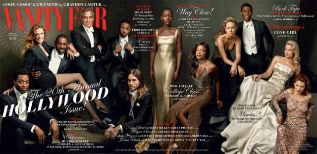 Vanity Fair, March 2014: spread