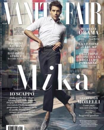 Vanity Fair (Italy), November 2016: Mika