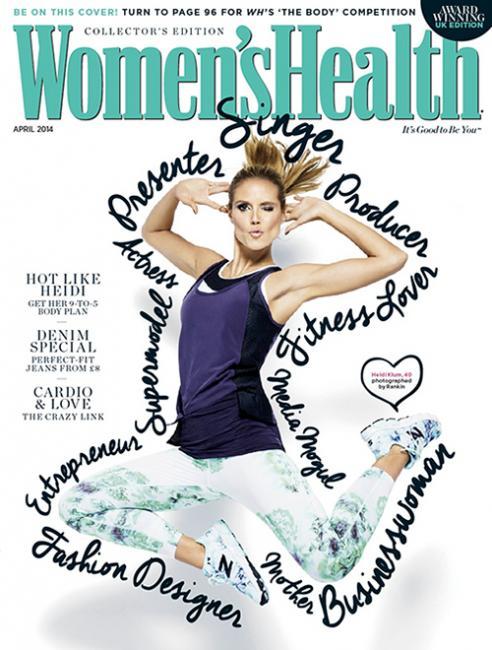 Women's Health UK, April 2014