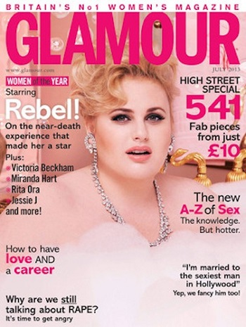 Glamour UK, July 2013