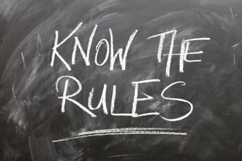 rules board circle font wont courtesy of Pixabay