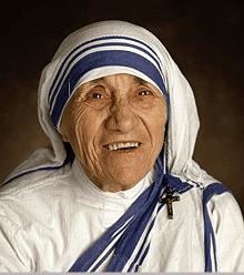 Mother Teresa Smile