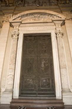 _MG_2169 Entrance to Saint Peters Basilica, Vatican City, Rome,