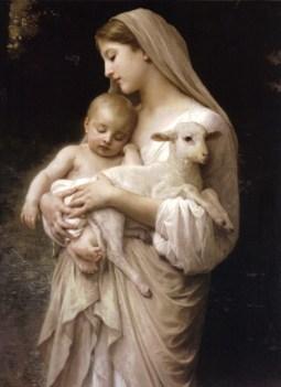 virgin-mary-holding-lamb