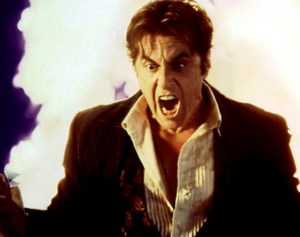 All Pacino as the devil