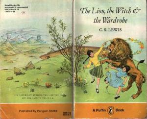 Pauline Baynes Narnia cover - Lion Witch Wardrobe