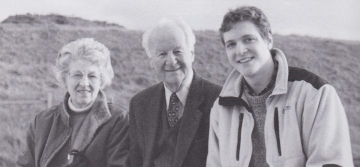 The Happy Triumvirate in 1999 (Frances, John & study assistant Corey Widmer)