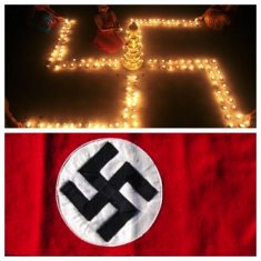 double symbols - swastika
