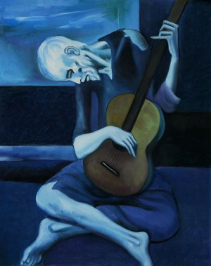 The Old Guitarist (Picasso, 1903-4)